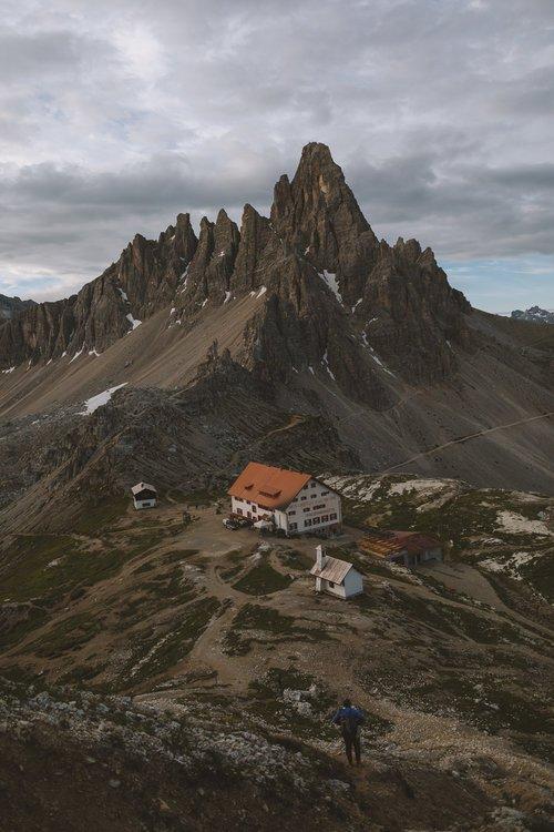 randonnée dolomites tre cime di lavaredo italie