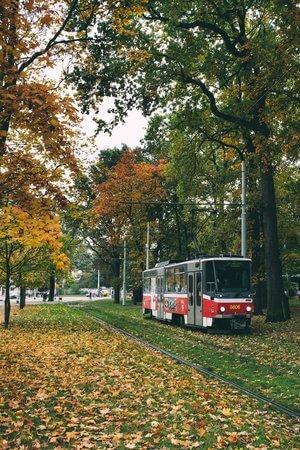 tramway a prague