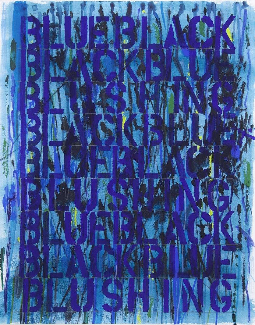 Blue Black Black Blue Blushing