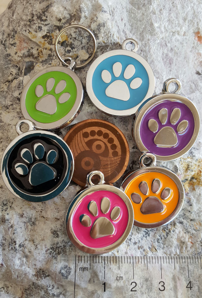 Paw Pet Tags