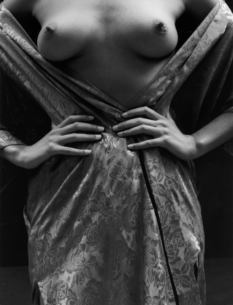 """Nude in Robe 2"" by Kim Weston"