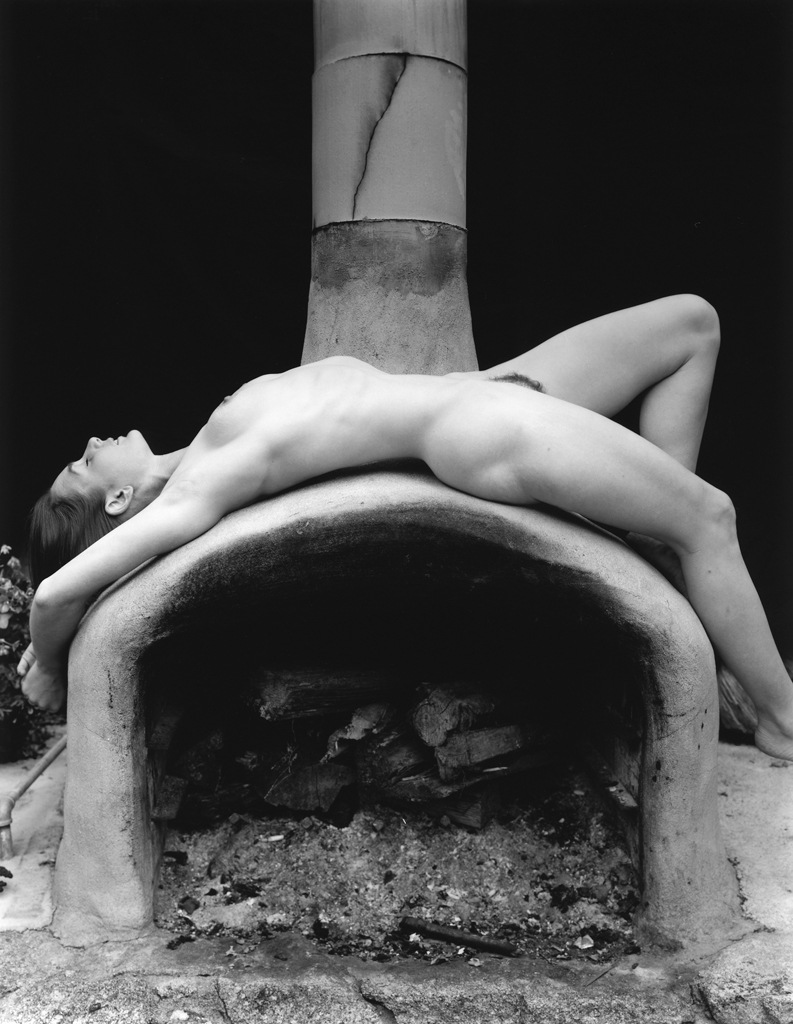 """Nude on Oven"" by Kim Weston"
