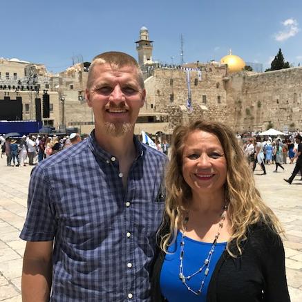Don & Marta Patten    Serving in Israel