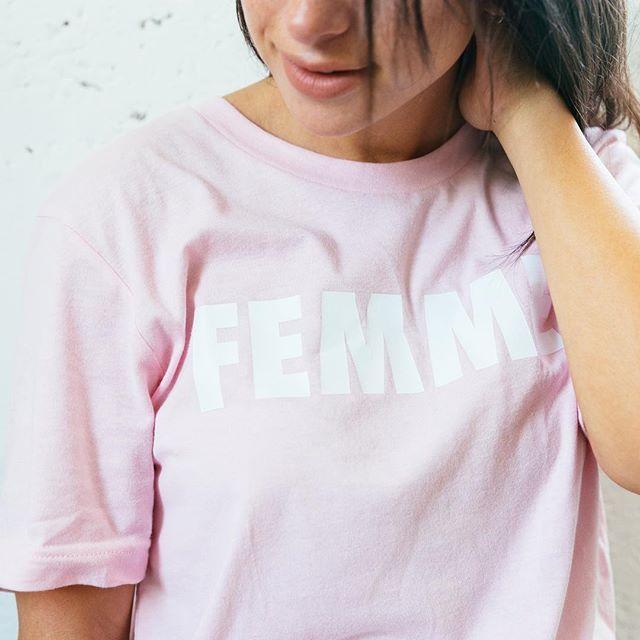 Femme tee forever @awomclub