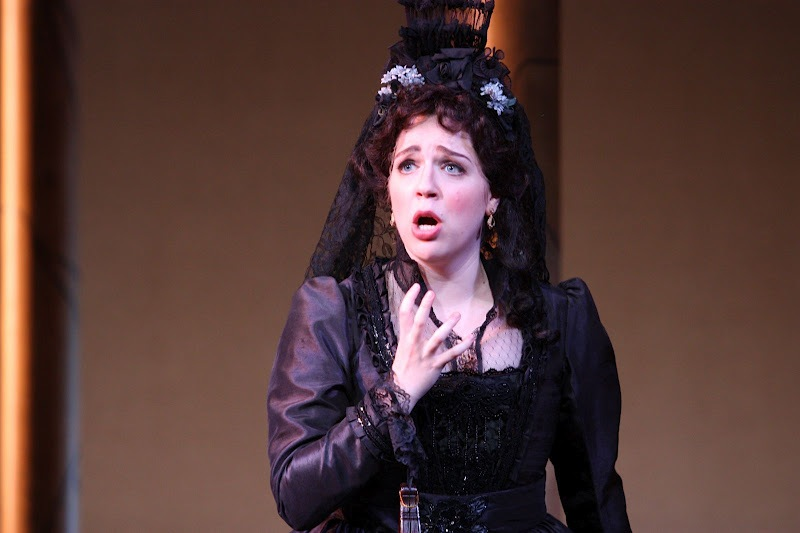 Photo credit: Eugenia Ames  Donna Anna in Mannes Opera's  Don Giovanni