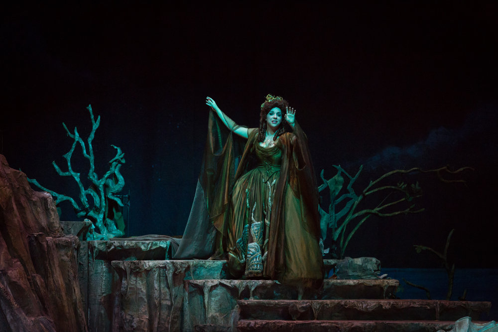 Photo credit: Palm Beach Opera  Echo in  Ariadne auf Naxos