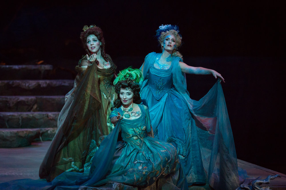 Photo credit: Palm Beach Opera  Echo in  Ariadne auf Naxos   With Jessica Fishenfeld and Fleur Barron