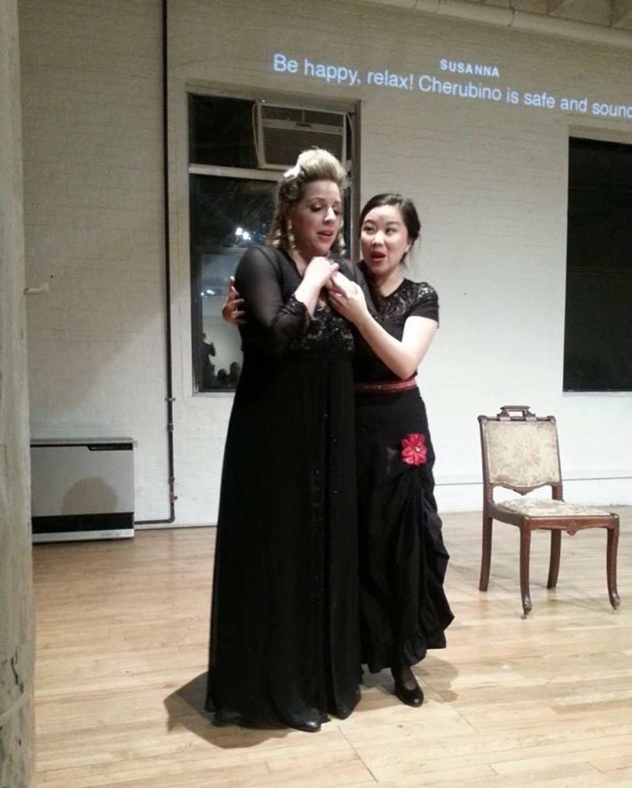Countess in LoftOpera's  Le Nozze di Figaro   With Boya Wei