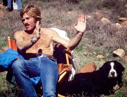 Happy #nationaldogday #robertredford