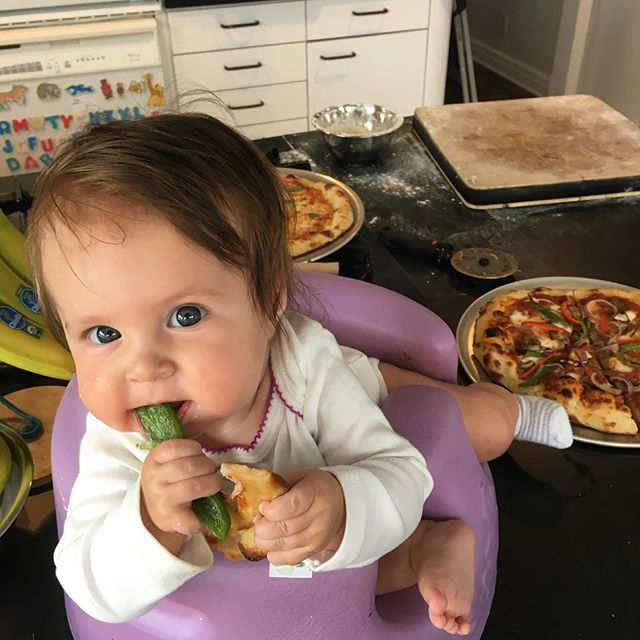 Baby's first slice