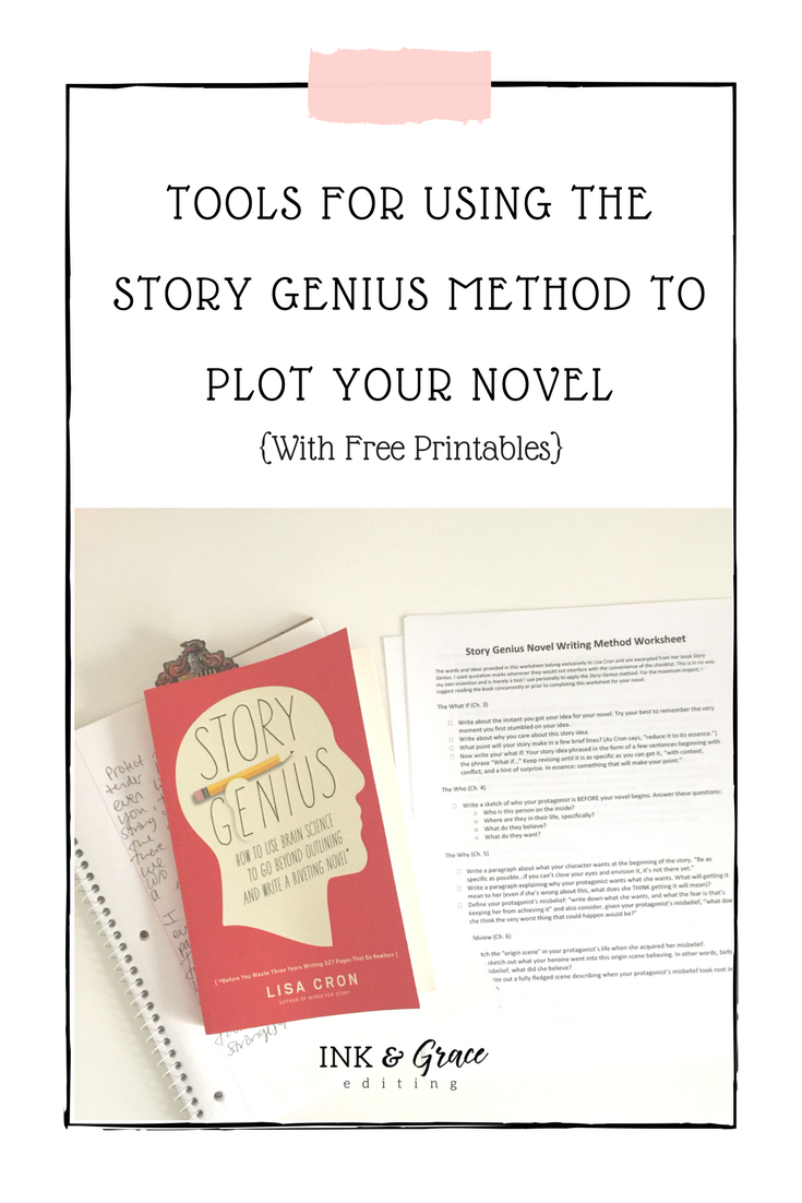 Tools for Plotting Your Novel with Story Genius