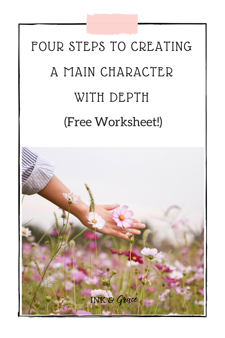 How to create a character with depth