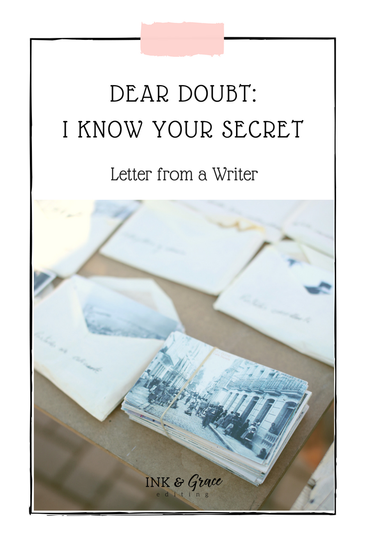 Letter to Doubt From a Writer