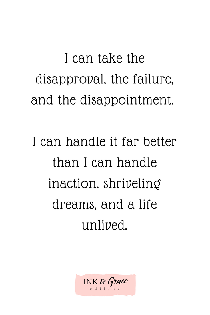 Letter to Doubt, From a Writer -- Writing Quote