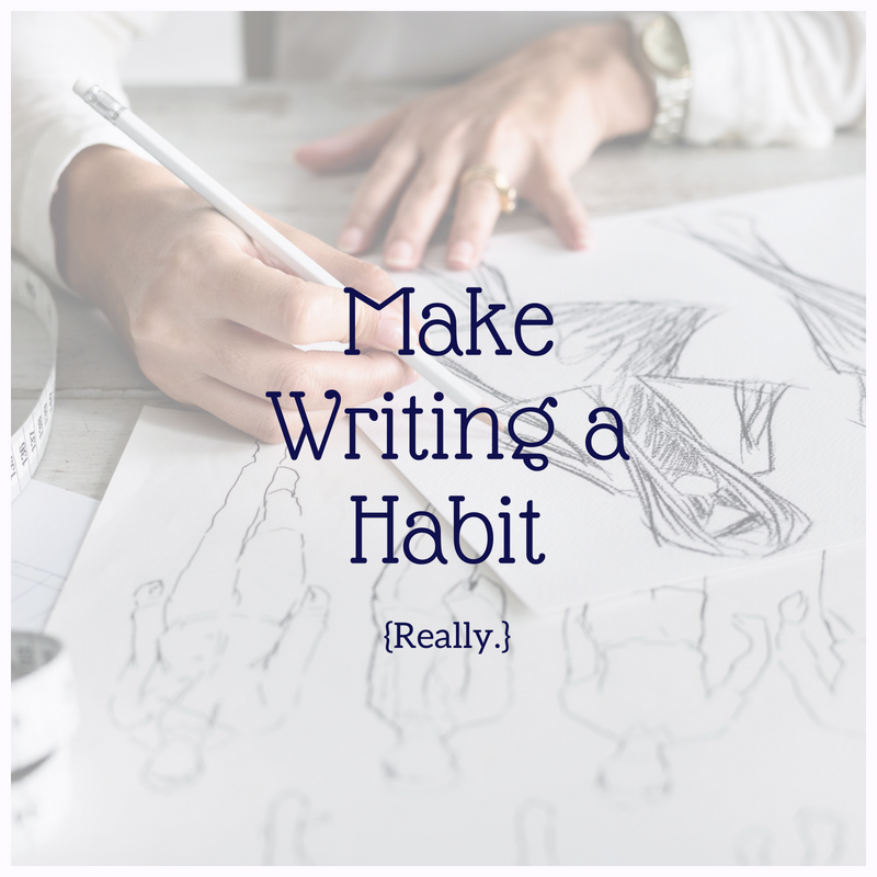 If you need to claim your role as a writer and start making writing a habit, start here!