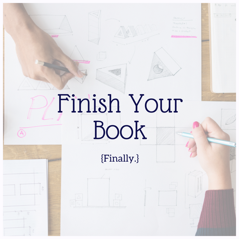 If you are struggling to finish writing your book, start here.