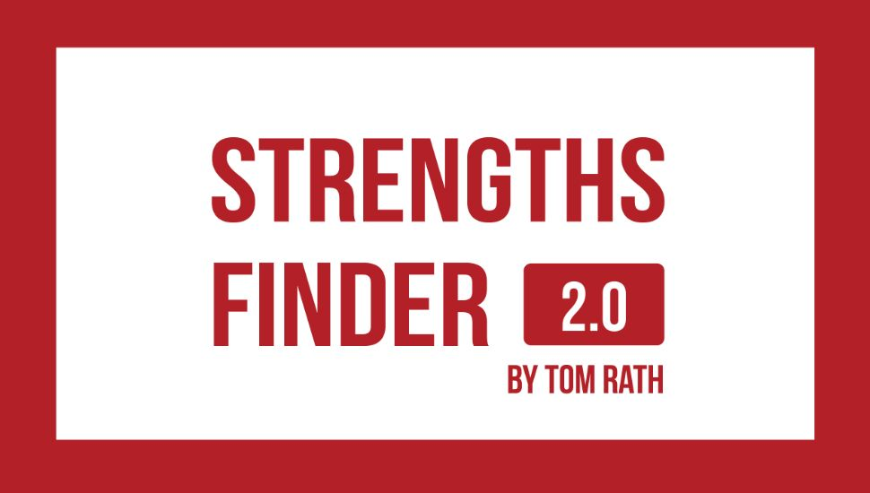 Strength Finders 2.0  (choose one option)  1) Purchase the book  here  for $20 and use the code in the back to take the online assessment. 2) Purchase the online assessment  here  for $20 and download a free e-book.