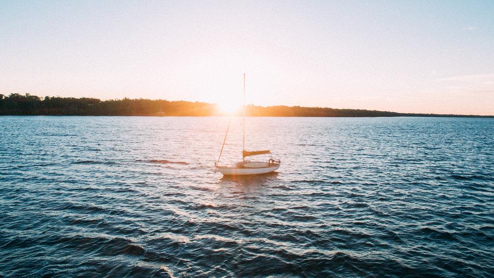 sailing sailboat