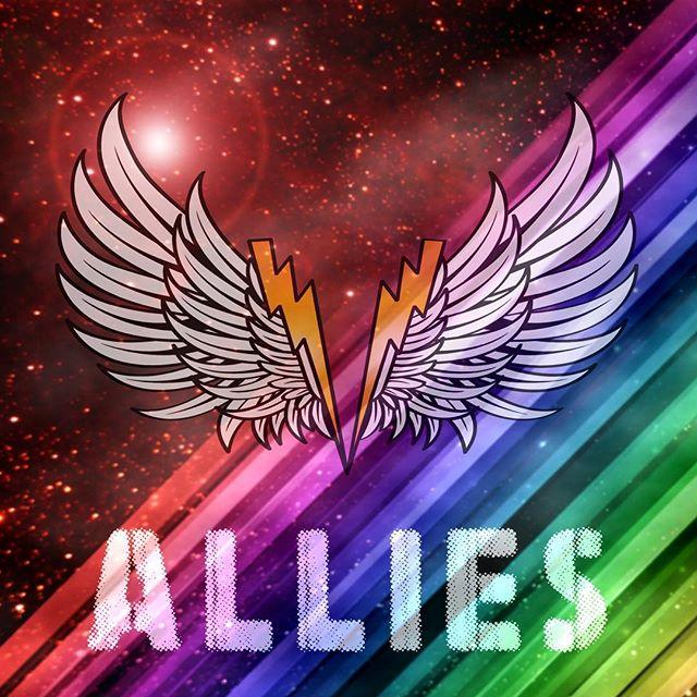⚡️LOVE IS LOVE ⚡️ . #pride #love #ally #lgbtq