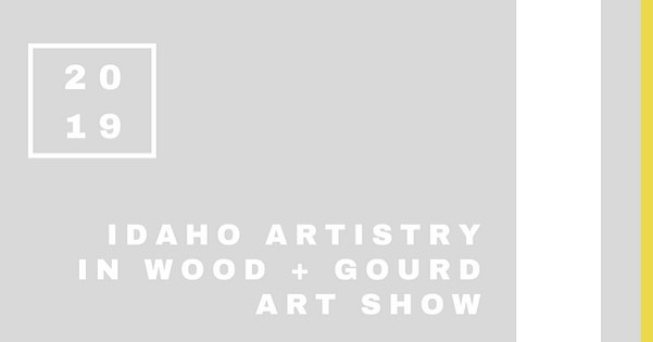 same venue - @jumpboise 🌲 same purpose - sharing local artwork with our community here in #Idaho 🏔 new name - idaho artistry in wood and gourd art show 🙌🏼