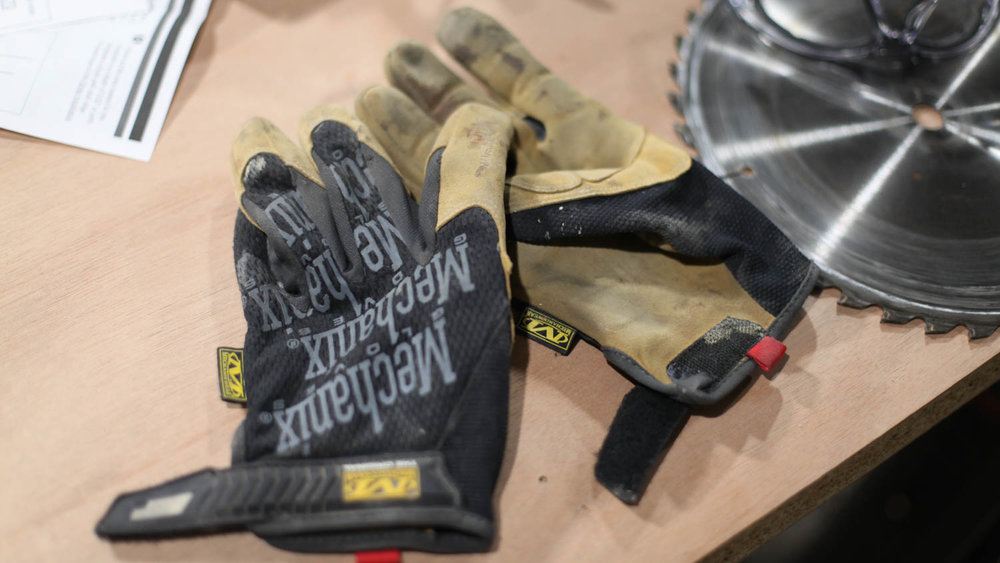 Mechanic's gloves - Mechanix gloves fit great and come in a wide variety of styles for every working condition.