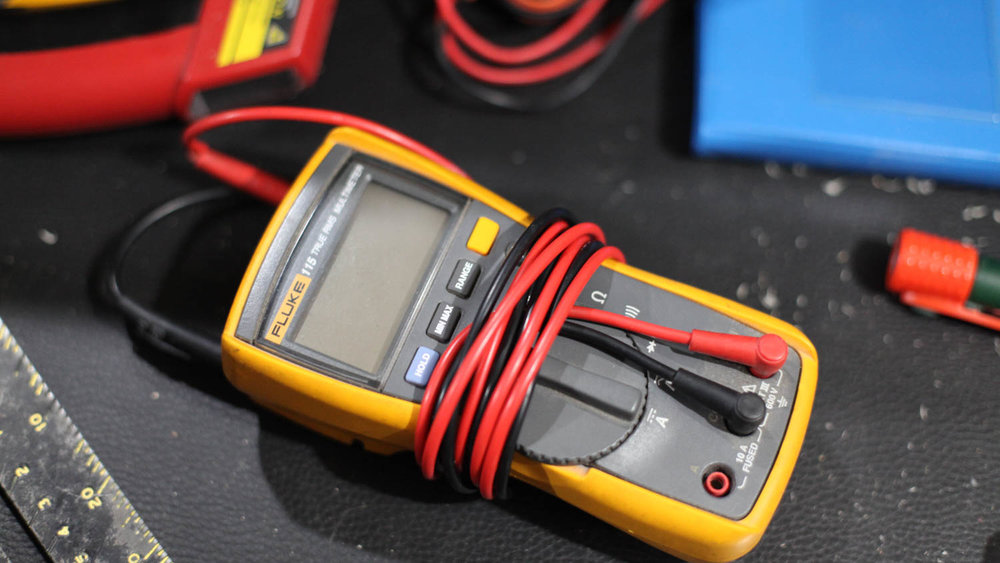 Fluke multimeter - Yup.