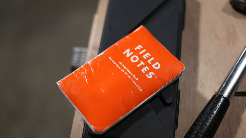 Field Notes - Whether for note-taking, sketching, or to-do lists, having paper around still makes a *ton* of sense.