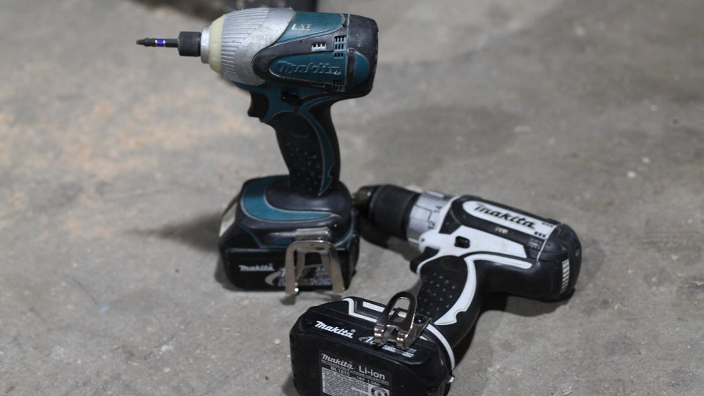Impact driver & drill - There's no excuse for using a drill to drive screws.