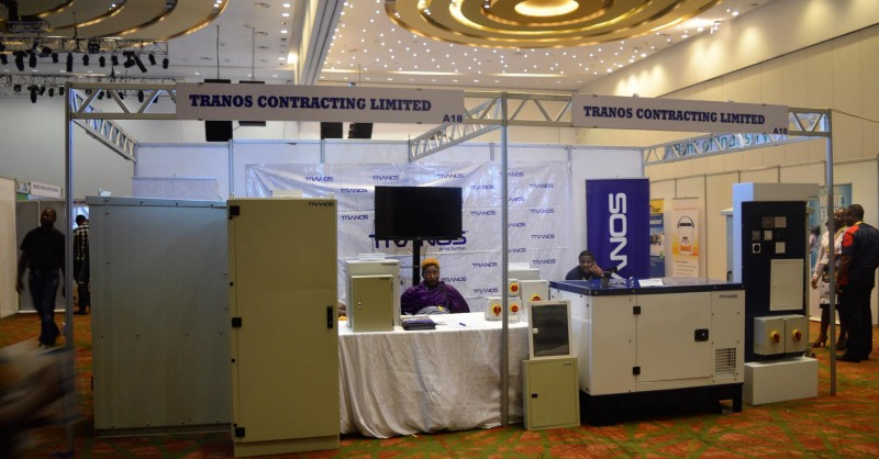 Tranos products at a recent exhibition.  LivinSpaces