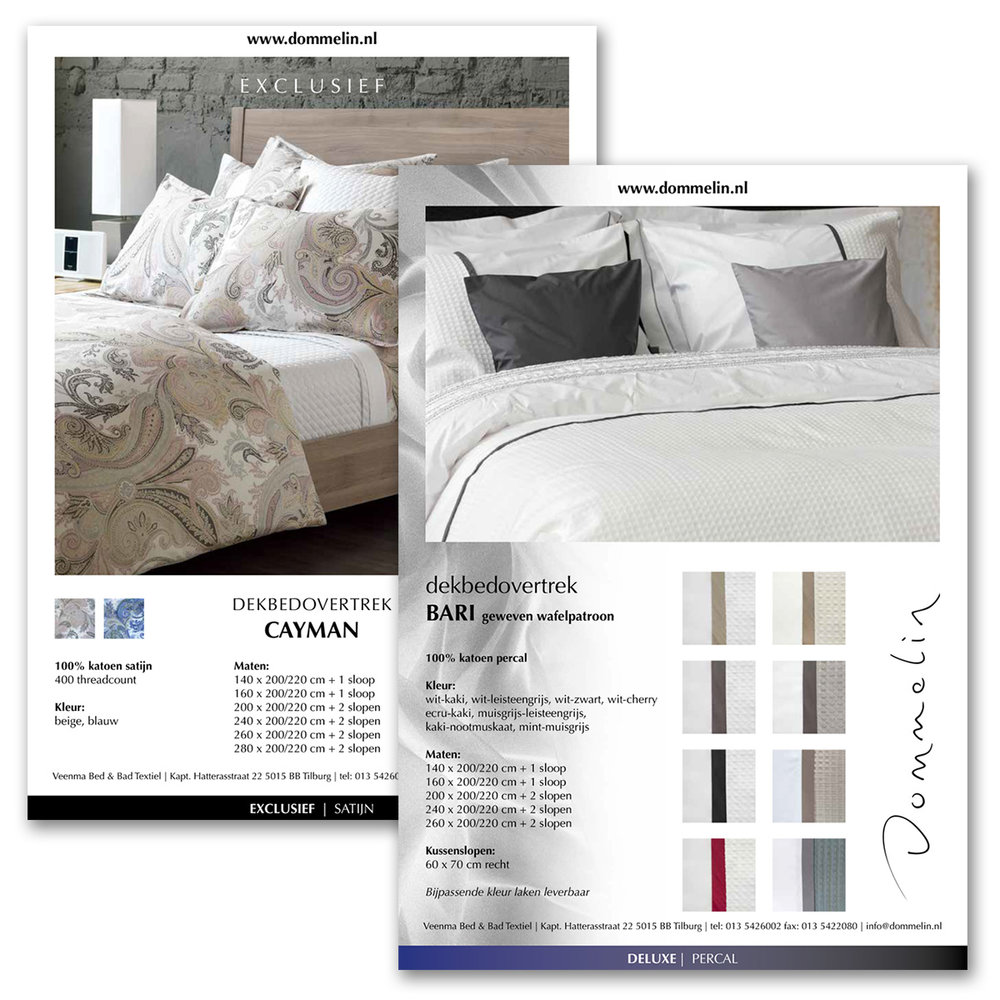 Catalogus sheets