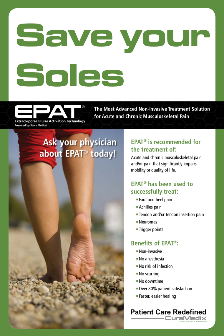 epat shocwave therapy for foot pain in rocky hill and hartford, ct