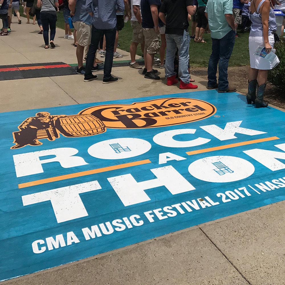 Rock-a-Thon<strong>Cracker Barrel</strong>