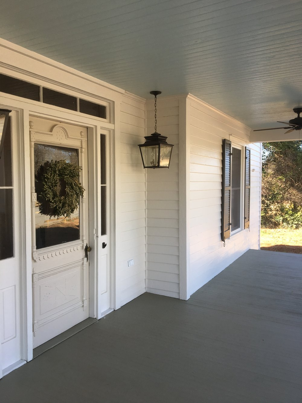 The Shealy House Tfo Contracting Solutions How To Repair A Doorknob Oldhouse Online Hard Believe This Is Same Porch Thanks Efforts Of Don Martin Martins Commercial And Industrial His Team What Was Once Chipping
