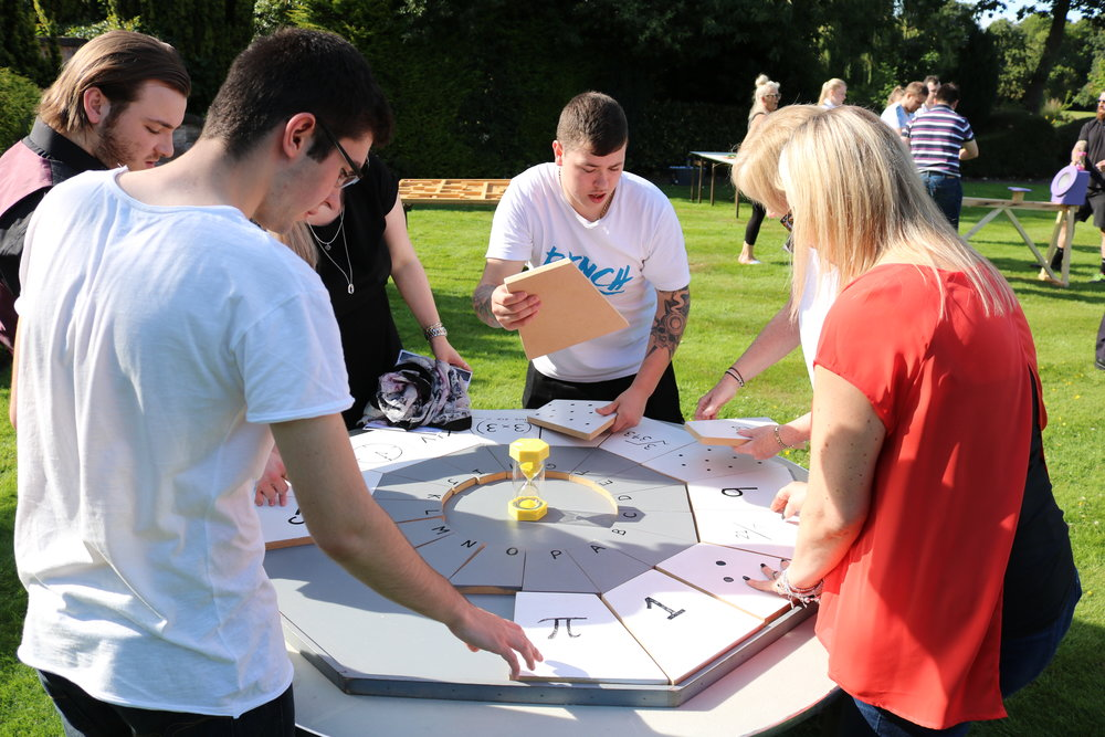 Aim for the Sky offer unique team building events