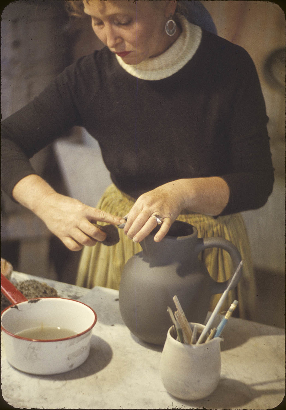 Edith Heath at work
