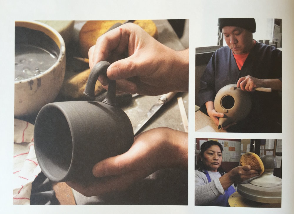 A page from Heath Ceramics: The Complexity of Simplicity