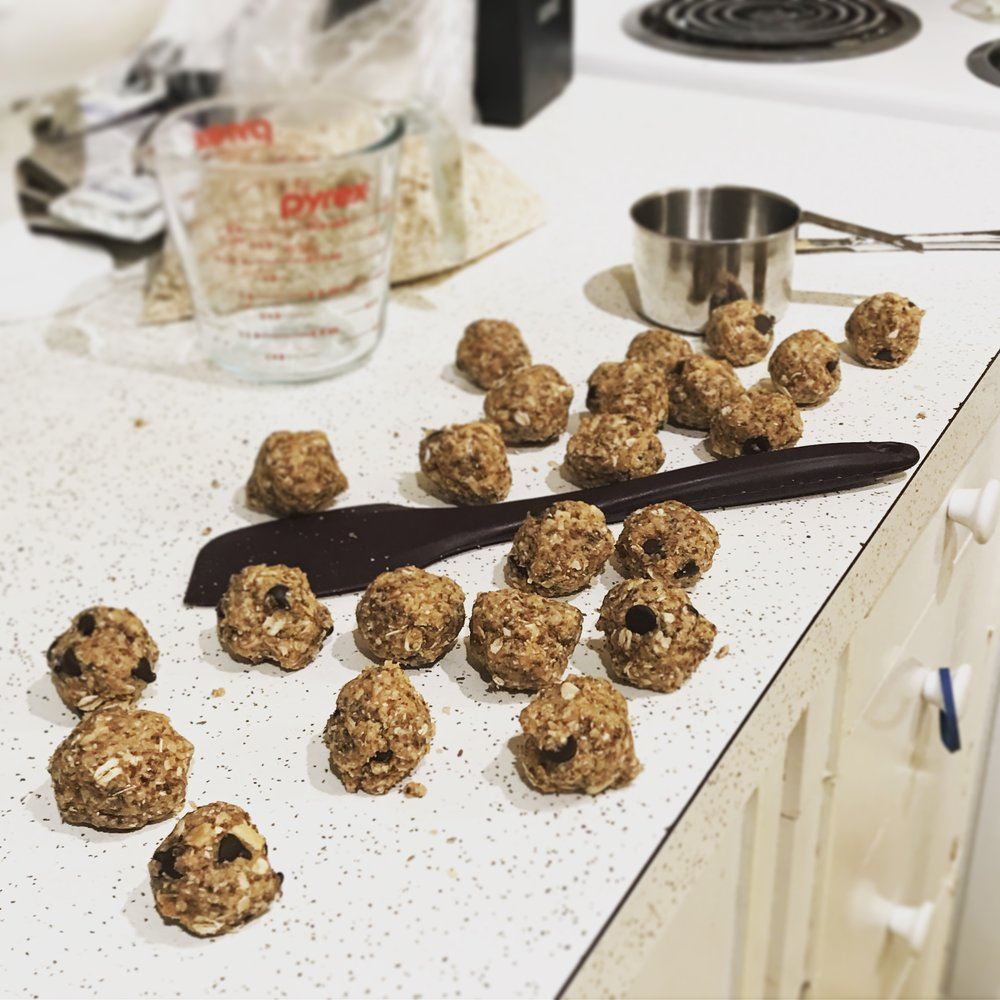 Not made with actual crack (or testicles), but they will bring a smile to your mouth every time because they're freaking delicious and way too easy. Plus, it's fun to say balls. Balls. (giggle giggle) Balls.
