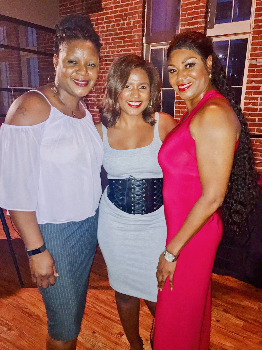 FLIGHT CREW: Irene Bell, Allison Jones (Co-Founder), Cyndi Mathis