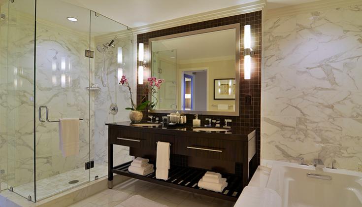 Loews Atlanta Hotel: King Suite Bathroom - Atlanta, United States