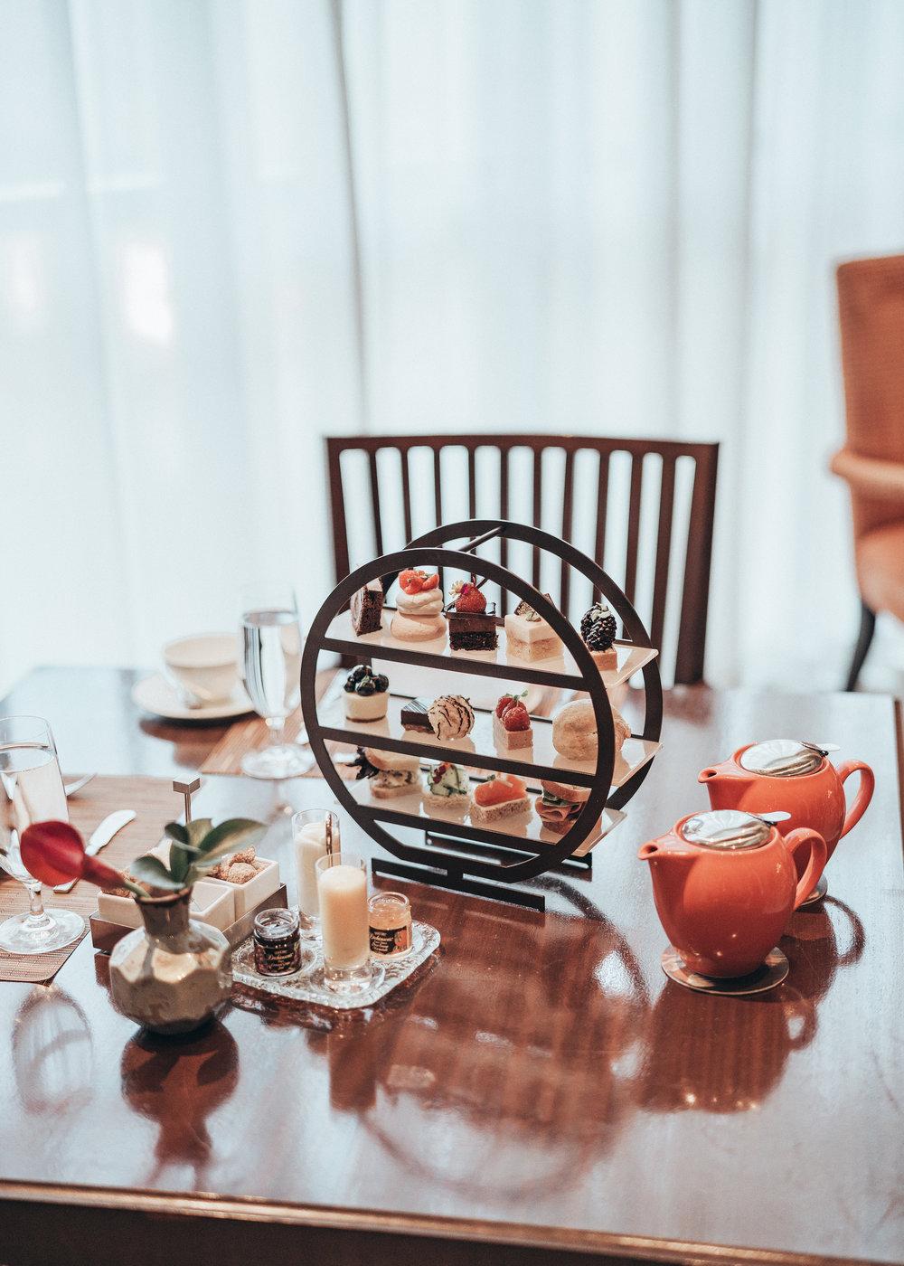 Stock Photo: Afternoon Tea - St. Regis Atlanta - Atlanta, United States