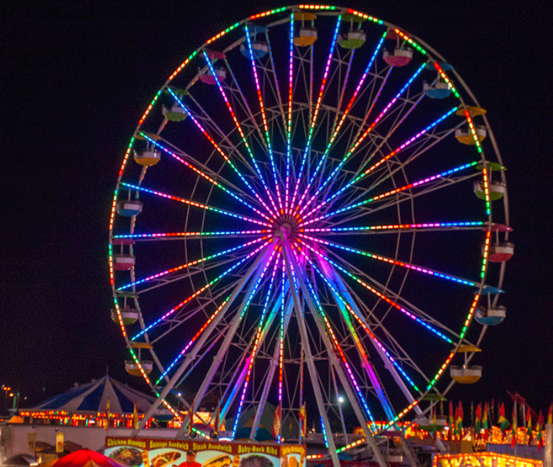 Web: Ferris Wheel - ARTlanta Fair - Atlanta, United States