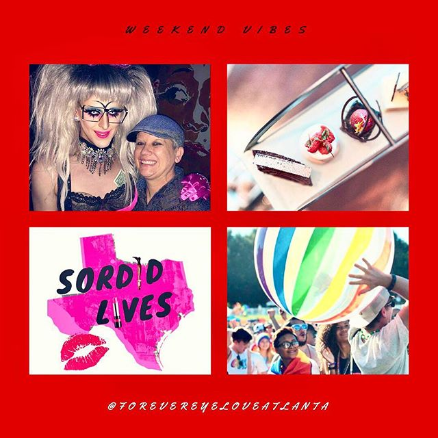 What better way to kick off your #weekendvibes than with #Atlanta's best #dragqueens 👯‍♀️🌈👯‍♂️ A good lesbian bar is hard to find and @mysistersroom brings all the queens and quings to the yard. Support Atlanta's local drag scene with @mona_atl and @elese_kennedy TONIGHT❗️ Head to the blog to 👀 what else is happing in the #Atl #ExploreAdventurously #atlantalgbt