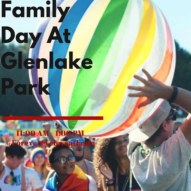 Get out of your routine and bring your 👩‍👩‍👧 out for @atlantapride's  annual Family Day tomorrow‼️ 👨‍👨‍👧👨‍👧👨‍👨‍👦‍👦👩‍👦👩‍👩‍👧‍👦👨‍👧🌈