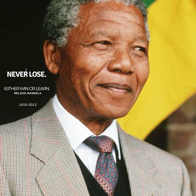 Learn + grow. If you are not learning from your friends, you are not growing. Remember life is for the living. Happy 100th Birthday to the late 👑 Nelson Mandela. May your light forever lead the way to freedom #MandelaDay