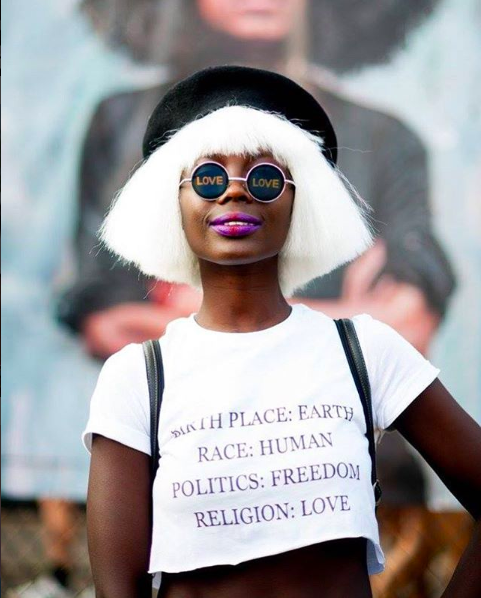 Fall music festival outfit ideas - AFROPUNK Paris (Image: Instagram - @AFROPUNK)