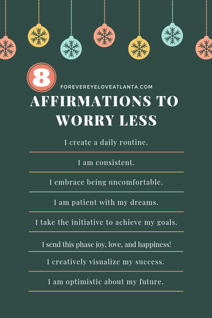 Positive affirmations for success and to worry less #affirmations #MondayMotivation #MotivationalQuotes #lifegoals #resolutions