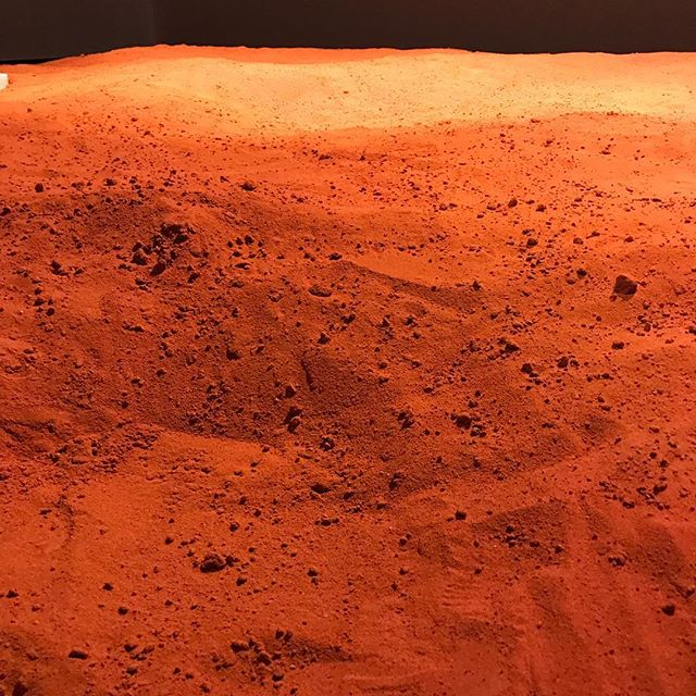 Red Sand Installation #australia #symposium