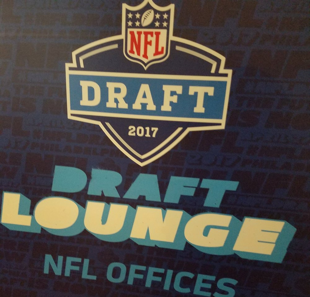 #WEREHERE at the 2017 NFL Draft in Philadelphia, PA