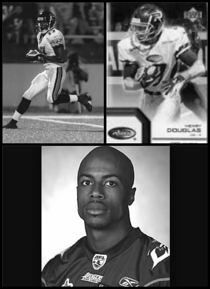 Henry Douglas - (NFL) Detroit Lions, Jacksonville Jaguars (AFL) Los Angeles Avengers,