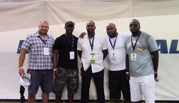 Many of #LongIslands football greats and future pros, returned to support the #BEF